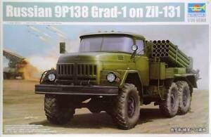 Russian 9P138 Grad-1 on Zil-131 1/35 model kit Trumpeter 01032