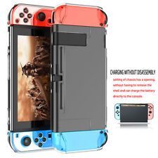 Para Nintendo switch consola de juego claro caso cubierta anti-arañazo protector
