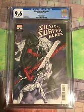 Silver Surfer Black 4 CGC 9.6 Momoko Variant Knull Cover!
