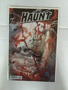 HAUNT # 2 OTTLEY BLOODY VARIANT EDITION FIRST PRINT IMAGE COMICS