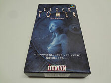 Clock Tower Nintendo Super Famicom Japan NEW