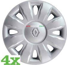 Set 4 Copricerchi MODUS 2004> diametro 15 grigio coppa ruota borchia coppone