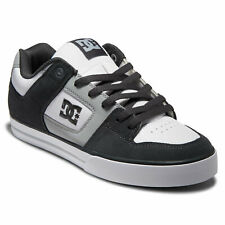 DC Shoes Men's Pure Low Top Sneaker Shoes Gray/White/Blue (xswb) Clothing App...