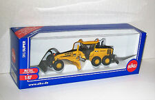 SIKU SUPER 1:87 Scale 1883 VOLVO G990 ROAD GRADER Die Cast/Plastic New & Boxed