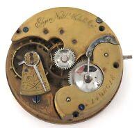 1884 ELGIN 16S 11J MENS POCKET WATCH MOVEMENT.