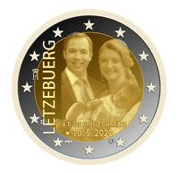 2 Euro Gedenkmünze Luxemburg 2020 FOTO Prägung Auflage nur 160 000 Stück !!!