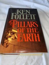 The Pillars Of The Earth Ken Follett 1st Edition Hardcover Book 1989 Excellent
