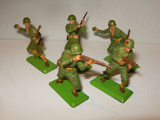 LOT de 5 DEETAIL BRITAINS ENGLAND 1971 SOLDATS