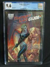 Danger Girl/ G.I. Joe #1  (2012) J. Scott Campbell Cover IDW  CGC 9.6 W027