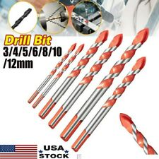 Multifunctional Drill Bits Ceramic Glass Punching Hole Working Drill 3~12mm Set