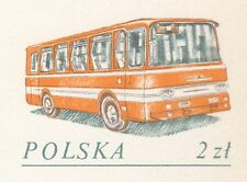 POLAND 1982 **MNH Postcard Cp#812 150 years, factories buses Autosan - Sanok