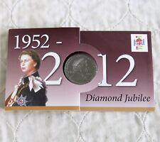 Joseph Locke Escuela Primaria QEII Jubileo de Diamante 2012 PROOF crownmedal