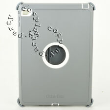 Otterbox Defender Rugged Hard Shell iPad Air 2 Case Cover w/Stand (Gray/White)