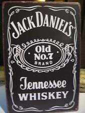 VINTAGE RETRO STYLE TIN SIGN *JACK DANIELS-OLD NO.7-TENNESSEE WHISKEY*