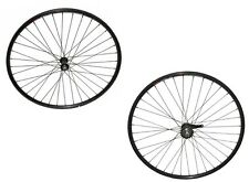 700c Alloy Front & Rear with Coaster Brake Wheelset 14G Black