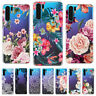 For Huawei P30 Pro P30 P20 Lite Painted Slim Soft Silicone Clear TPU Case Cover
