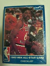 1983 Star Company All Star Game  Factory Sealed Set  Larry Bird  Magic  Dr J