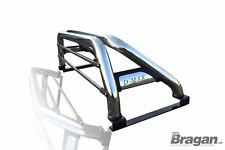 To Fit 2012-2016 Isuzu D-Max Rodeo Stainless Steel Sport Roll Bar + Brake Light