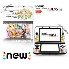 Nintendo [new 3DS XL] Pokemon Eevee Evolutions Family VINYL SKIN STICKER