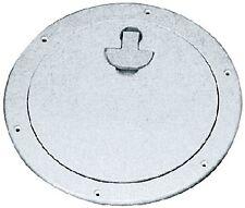 "New Deck Plate bomar G840w 7-5/16"" ID 10-9/16"" OD 8-1/2"" Stark White"