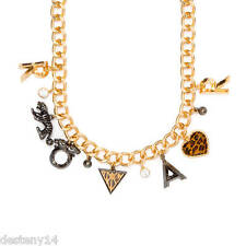 Katy Perry Prism Collection Gold Roar Charm Necklace NWT