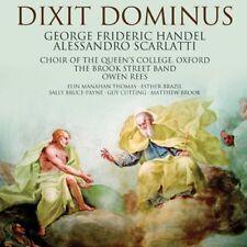 eorge Frideric Handel - A Scarlatti  Handel Dixit Dominus [CD]