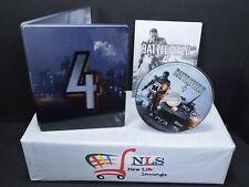PS3 Battle Field 4 Steelbook Special Edition #MANDY