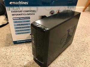 eMachines EL 1333G Desktop with Windows 7 Key - 500GB HDD, 2GB RAM, DVD Drive