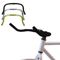Alloy Bullhorn HandleBars For Fixie Fixed Gear Single Speed Road Bike Cycling