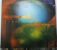 John Foxx & Harold Budd - Translucence - 2x UK CD