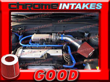 BLUE RED AIR INTAKE KIT FOR 2001 2002 2003-2005 HYUNDAI ACCENT WITH 1.6 1.6L