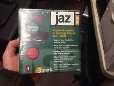 Brand New Sealed Iomega Jaz 1GB Mac Format 3 Pack