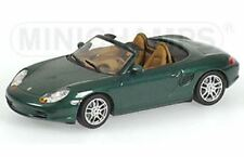 MINICHAMPS 400 062034 PORSCHE BOXSTER diecast model car green metallic 2002 1:43