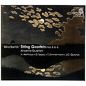 Bartók: String Quartets Nos 5 & 6, , Good Import