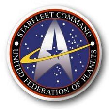 "Star Fleet Command Logo - 25mm 1"" Button Badge - Star Trek TNG Kirk Picard retro"