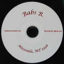 12 Step Recovery Talks Al-Anon Speaker CDs - Babs B.