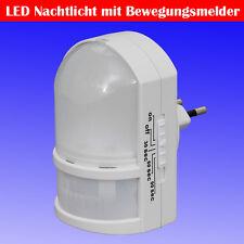 LED Nachtlicht weiß mit Bewegungsmelder für Ihre Steckdose  TG11-038