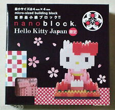 Nano Block Hello Kitty Japan Limited Model Sanrio unopend New