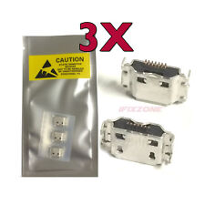 3 X New Micro USB Charging Port Charger Samsung Captivate Galaxy S SGH-i897 USA
