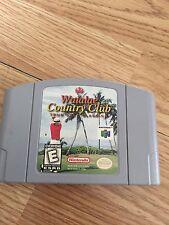 Waialae Country Club Golf Nintendo 64 N64 Game Cart Good Works BA5