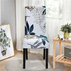 Chair Cover Spandex For Living Room Chair Cover Elastic Stretch Geometric Floral