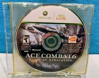 Ace Combat 6: Fires of Liberation (Microsoft Xbox 360, 2007) Disc Only - Tested