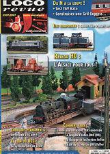 """** Loco Revue n°724 BB 63000 TER sonorisée / TGV """"POS"""" en N de Kato"""