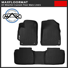 2009-2014 Dodge Ram 1500 Quad Cab All Weather Custom Floor Mat Liner Black