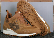 New Asics Tiger Gel-Lyte MT Caramel Brown Storm Leather Low Running Shoes Size 8