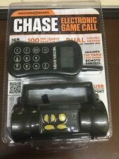 New! Western Rivers Chase Electric Game Call 100 Pre-loaded Sounds w/ Remote