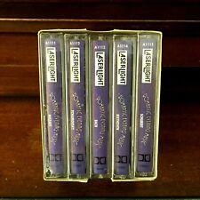 ROMANTIC EVENING MOMENTS 5 Cassette Tape Box Set Classical Romance Bach Mozart