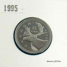 1995 Canada 25 Cents Proof Ultra Heavy Cameo From Set