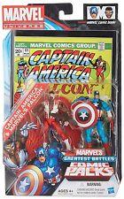 """Marvel Universe Capitán América y el halcón 3.75"""" Figura Comic En Caja Set RARE"""