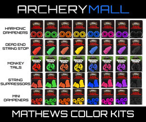 Mathews Custom Damping Accessory Kit  -  All Colors  -  Customizable Package